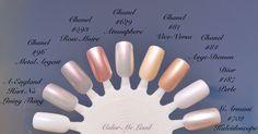 Color Me Loud: Chanel Le Vernis #625 Secret, #629 Atmosphere and #631 Orage from États Poétiques Fall 2014 Collection, Review, Swatch & Comparison