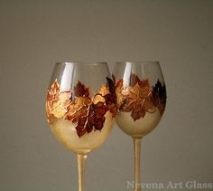 19 Painted Wine Glass Ideas To Try This Season | Home Design