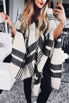 Love this poncho.