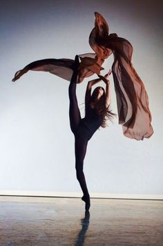Dance photography - flowing lines help capture the sheer force and power of the movement.