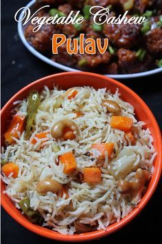YUMMY TUMMY: Vegetable Cashew Pulao Recipe / Veg Pulav Recipe