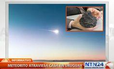 Especialista Revela Detalhes Sobre Meteorito que Caiu Recentemente no Uruguai