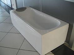 Vasca da Bagno Salvaspazio con Sportello   bagno effetto legno ...