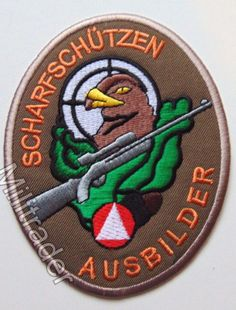 Austria Austrian Army Sniper Qualification Patch (Large)