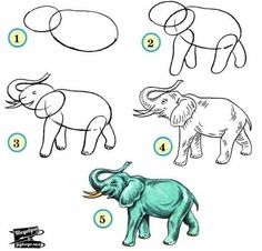 Wild animals drawing pictures how to draw zoo animals easily architecture synonym list Art Drawings For Kids, Pencil Art Drawings, Drawing For Kids, Animal Drawings, Easy Drawings, Easy Animals, Zoo Animals, Drawing Lessons, Drawing Techniques