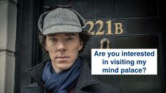 Sherlock's mind palace isn't fictitious anymore, you can now practice it too.