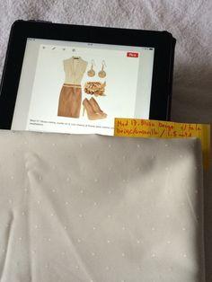 Mod 17: blusa crema cuello en V con olanes al frente con tela crema. 1.5 mts