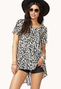 Animal Instinct High-Low Top   FOREVER 21 - 2000050798