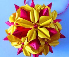5 Petals Origami Flower #2
