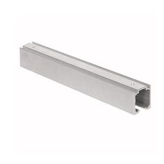 Herrajes para puertas: Raíl superior U-30 aluminio pestaña