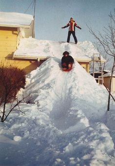 BLIZZARD OF 1978 WARSAW INDIANA | Blizzard 1978 Indiana                                              Remember sledding off of Smith's roof in 1978?