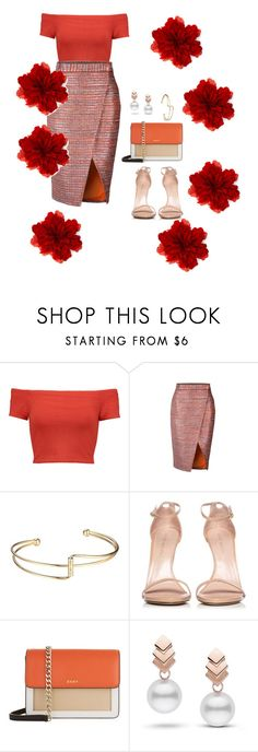 """boss"" by anjola112 on Polyvore featuring Alice + Olivia, Stuart Weitzman, DKNY, Escalier and Gucci"