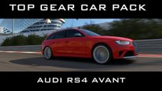 Forza 5 - 2013 Audi RS4 Avant Top Gear Car Pack #xbox #one #forza #motorsport #top #gear #audi #rs4 #quattro Top Gear, Audi Rs4, Xbox One, Packing, Sport, Car, Bag Packaging, Deporte, Automobile