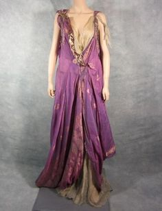 Spartacus Ilithyia Viva Bianca Screen Worn Roman Gown Ep 203