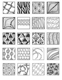 ZENTANGLE PATTERNS noncat 15 | Flickr - Photo Sharing!