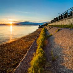 Seattle Sunset ~ Sunset on Alki ~  by Conor Musgrave