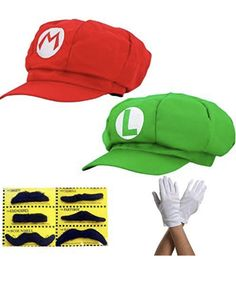 Super Mario, Luigi, Gloves, Cosplay, Awesome Cosplay, Mittens, Comic Con Cosplay