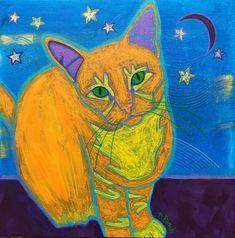 Pop Art Cat by Angela Bond, USA