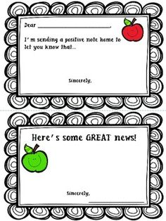 It's just an image of Challenger Printable Positive Notes Home for Parents