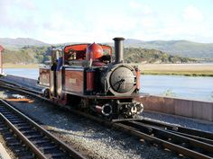 Double Fairlie at Portmadog on the Ffestiniog Railway Steam Engine, Steam Locomotive, Paddle, Trains, Engineering, British, Mechanical Engineering, England, Train