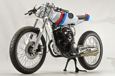 "Racing Cafè: Honda CB 125 TT ""RS"" by Steel Bent Customs"