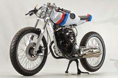 "Racing Cafè: Honda CB 125 TT ""RS"" by Steel Bent Customs"