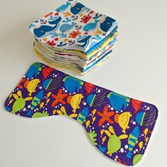 Mom approved! The perfect baby burp cloth pattern. Designed to fit 3 perfectly onto a fat quarter, this burp cloth pattern can be made in super-quick time