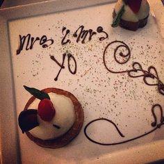 Yes, it says... Mrs. & Mrs. Yo #honeymoon #happy #wedding #hotel #marriage #cancun #mexico #vacation #lgbt #lesbian #love