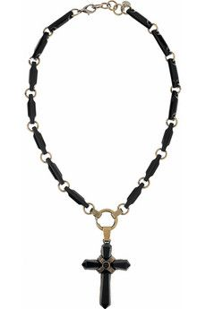Emilio Pucci cross necklace