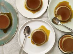Coffee Flan with Tequila Whipped Cream... because tequila is also great to cook with! #NationalTequilaDay