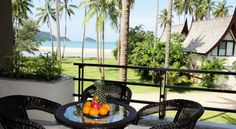 Relax on your balcony with a sea view and breeze.
