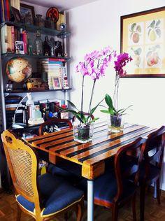 Comedor y mesa palet