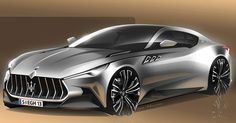 Maserati Alfieri Could Learn A Thing Or Two From This Study #Maserati #Maserati_Alfieri