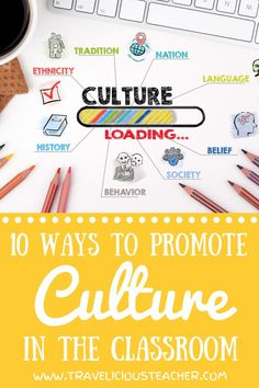 Have you been looking for ways to incorporate culture into your classroom? Children deserve to be provided with opportunities that highlight the diversity and beauty the world has to offer! Click to check out 10 unique ways your students can be a guest in other cultures. #MulticulturalClassroom #ClassroomCulture #TeachingCulture #ELL #ESL Classroom Team Building Activities, Building Classroom Community, Vocabulary Activities, Back To School Activities, Spanish Activities, Preschool Worksheets, School Ideas, Teacher Blogs, New Teachers