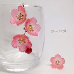 *梅の花のピアス*