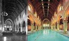"""Bianca Venus op Twitter: """"Mooi voorbeeld van #herbestemming, kerk omgebouwd tot Spa met zwembad in middenschip. #interieurarchitect denkt mee! http://t.co/mErFq3sZ0Q"""""""