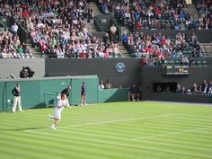Court 1 at Wimbledon.:) I watched Andy Murray vs Tobias Kamke..(2nd of 3 matches that day) 23 June 2011