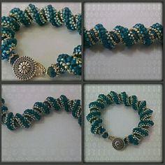 Celini Spiral Bracelet by TheElegantRelique on Etsy