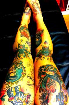 leg @tattoo's