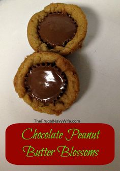 12 Days of Christmas Cookies | Chocolate Peanut Butter Blossoms Author ...
