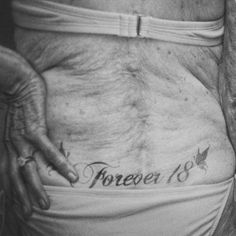 "So badass. | 24 Tattooed Seniors Answer The Question: ""What Will It Look Like In 40 Years?"""