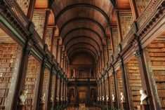 Trinity College Long Room, Dublin