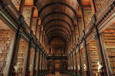 Trinity College Library Dublin, Irland | 29 Bibliotheken, die jeder Bücherfan gesehen haben muss