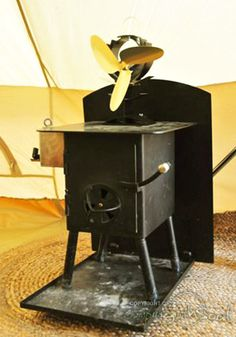 Bell Tent Stove from Stoves For Tents. & Cooking dinner on a Frontier Stove in a Bell tent #CustomerGallery ...