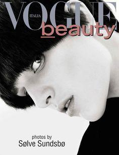 Ashleigh Good  for Vogue Italia (Beauty)  April 2013