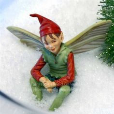 Fairy Homes and Gardens - The Good Elf - Cicely Mary Barker Flower Fairy, $14.99 (http://www.fairyhomesandgardens.com/the-good-elf-cicely-mary-barker-flower-fairy/)