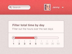 Day filter - Slider  by Kevin Anderson