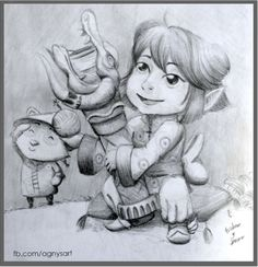 """Tristana and Teemo"" #Lol #Fanart #Games"