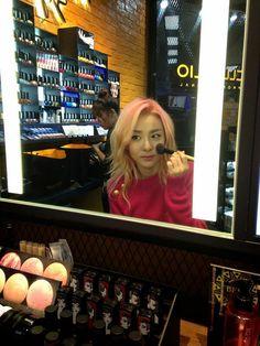 2013: Sandara Park 2NE1 CLIO Cosmetics, Korea