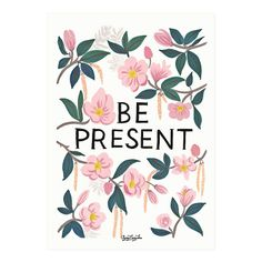This art print is inspired by Ayang Cempaka's own mantra whenever she gets panicked. A great reminder to live in the moment!…